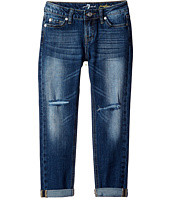 7 For All Mankind Kids - The Josefina Skinny Boyfriend Stretch Denim Jeans in Rose Bud (Big Kids)