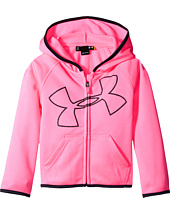 Under Armour Kids - Glitter Jumbo Big Logo Hoodie (Toddler)