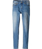 7 For All Mankind Kids - The Skinny Five-Pocket Stretch Denim Jeans in Vivid Authentic Blue (Big Kids)