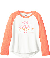 Under Armour Kids - You Sweat I Sparkle Raglan Long Sleeve (Toddler)