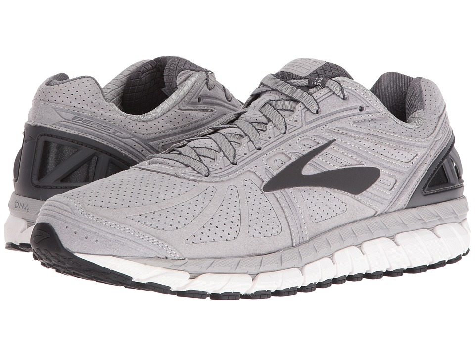 Brooks - Beast 16 Suede (Suede/Silver/Anthracite) Mens Running Shoes
