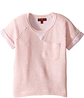 7 For All Mankind Kids - Marled French Terry Top (Little Kids)