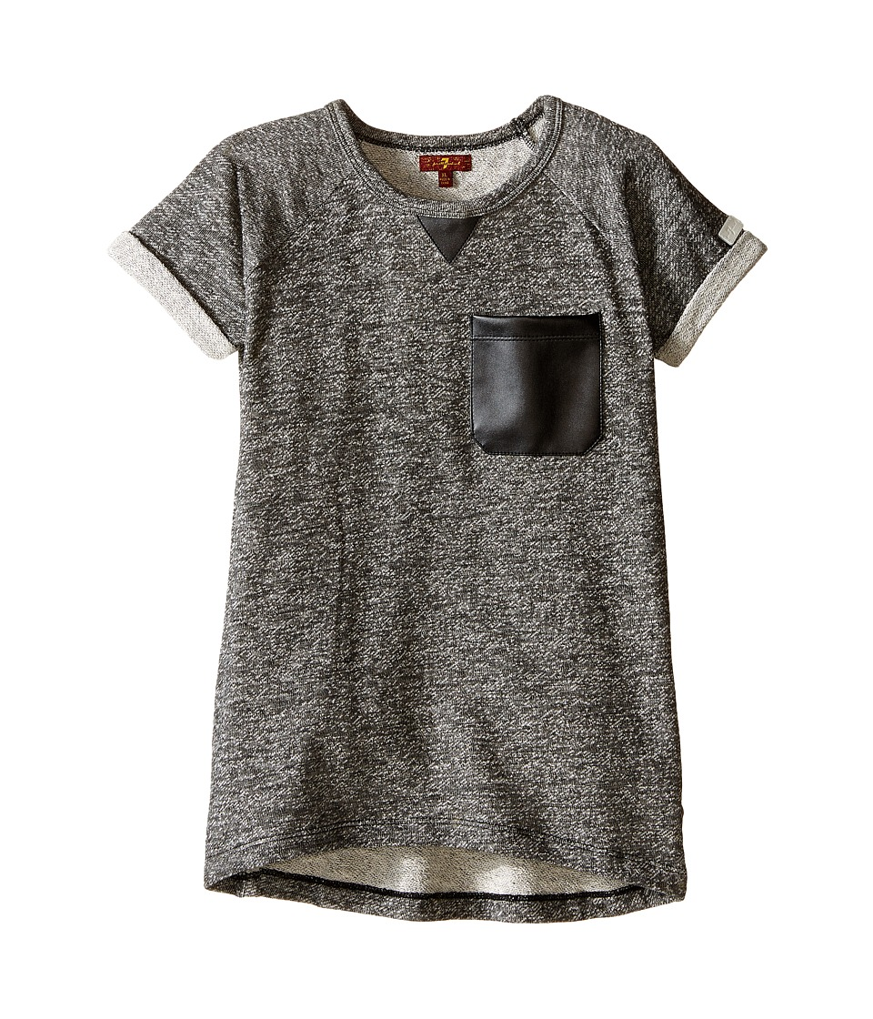 7 For All Mankind Kids - Marled French Terry Top