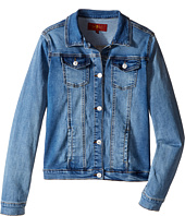 7 For All Mankind Kids - Stretch Denim Jacket (Big Kids)