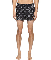 Dolce & Gabbana - Crown Print Mid Cut Swim Shorts