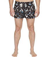 Dolce & Gabbana - Jazz Print Mid Cut Swim Shorts