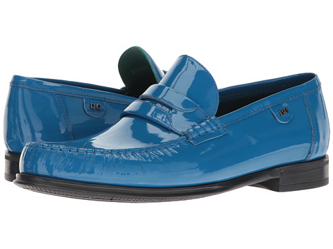 Dolce & Gabbana Genova Patent Leather Loafer