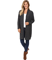 Nally & Millie - Long Sleeve Open Front Cardigan with Pleated Back