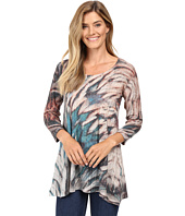 Nally & Millie - Feather Print Tunic