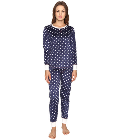 P.J. Salvage Polar Polka Dot Fleece PJ Set