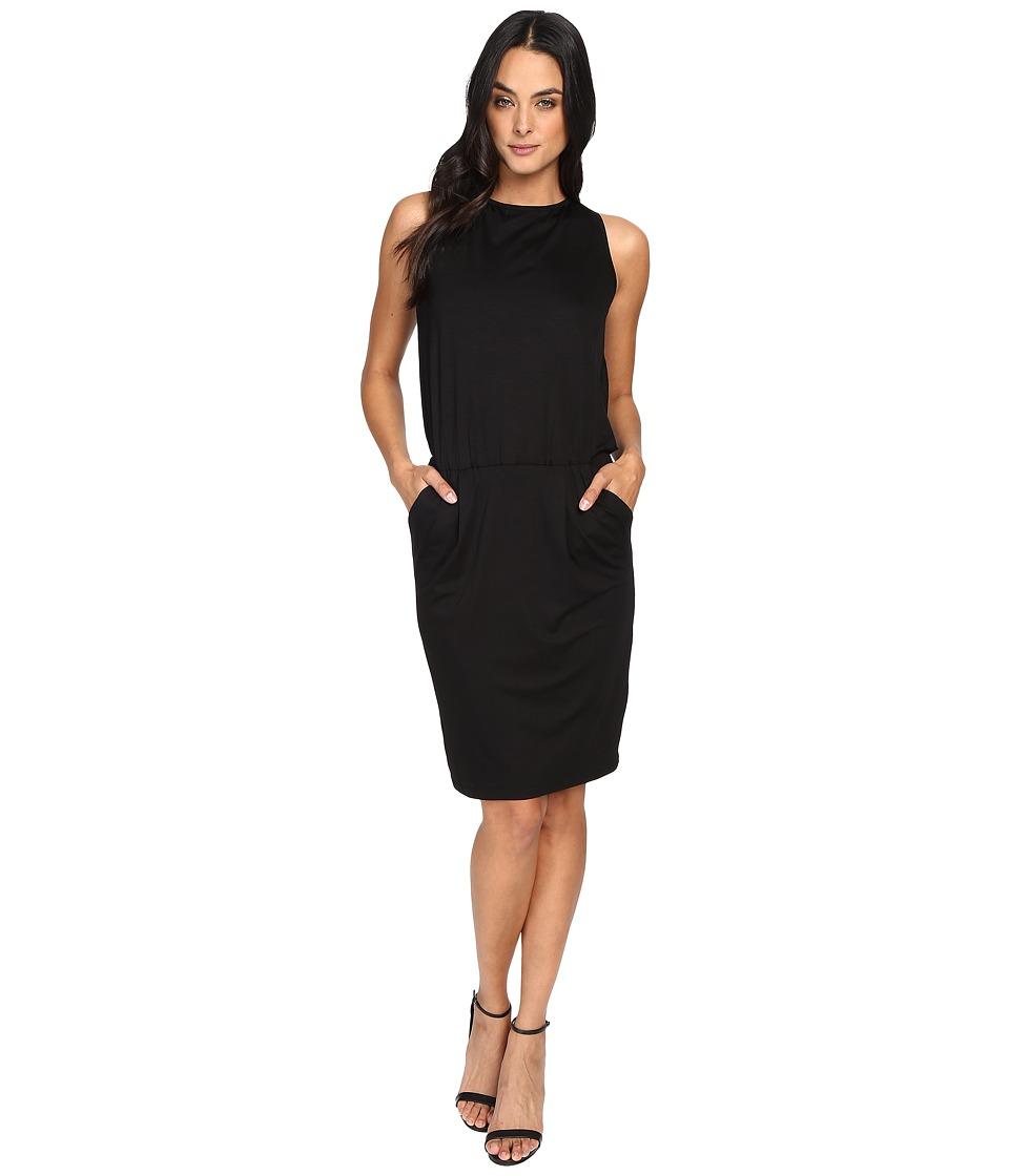 Trina Turk Delight Dress (Black) Women