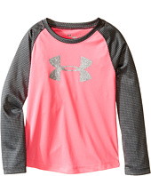 Under Armour Kids - Checkpoint Shimmer Raglan Long Sleeve (Little Kids)