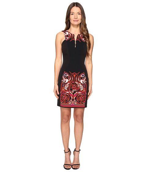 Versace Collection Woven Dress - Nero/Stampa