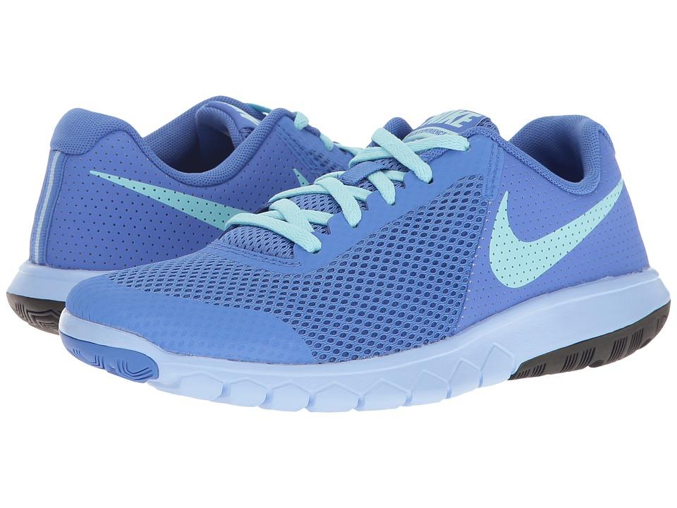 Nike Kids Flex Experience 5 (Big Kid) (Medium Blue/Still Blue/Aluminum/Black) Girls Shoes