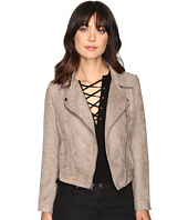 Jack by BB Dakota - Marilou Faux Suede Moto Jacket