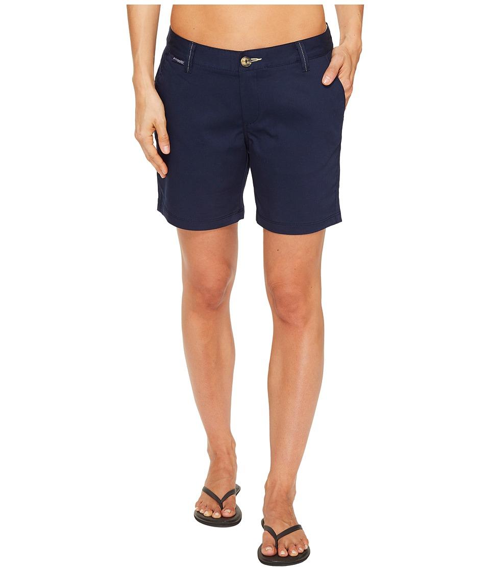 Columbia Harborside Shorts (Collegiate Navy/Sunlit) Women...