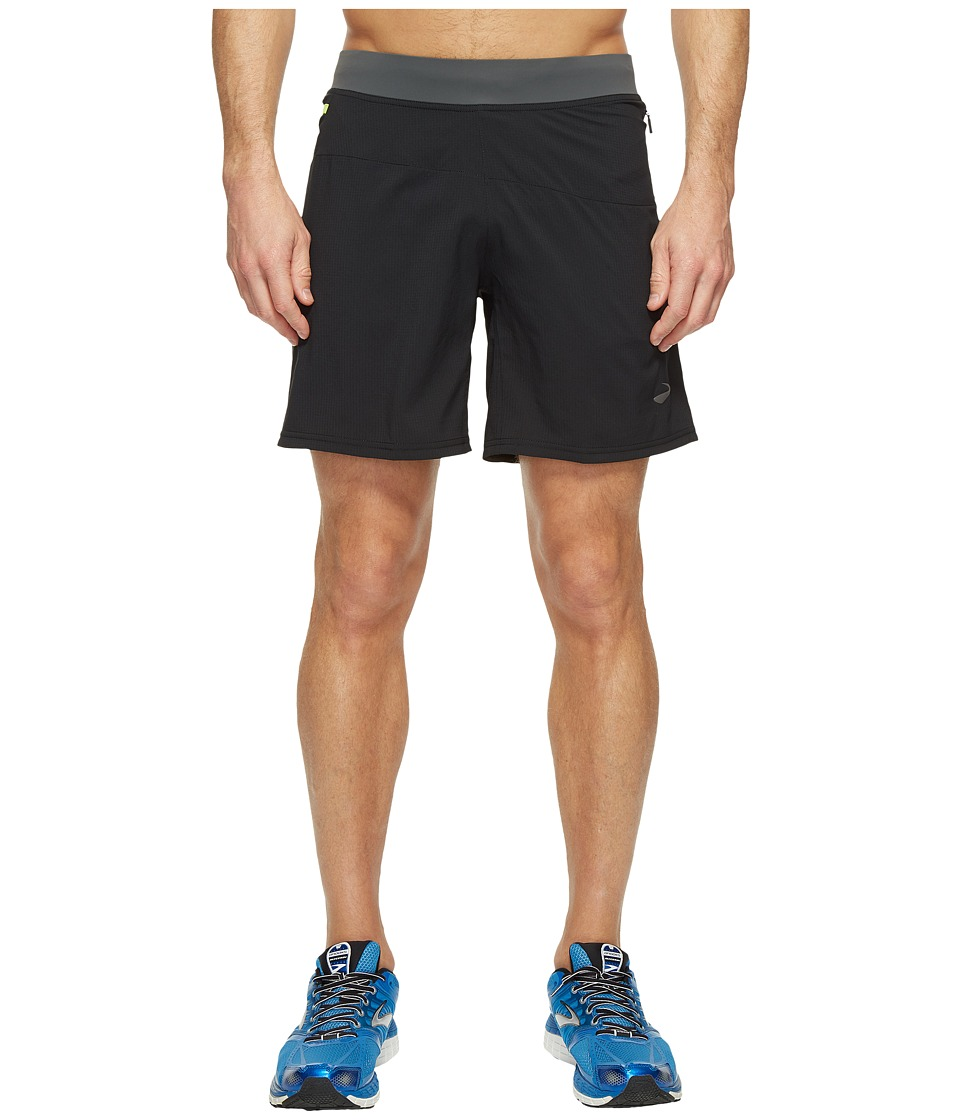 Brooks Cascadia 7 Shorts (Black) Men