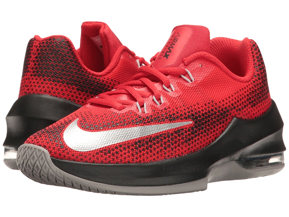 Nike Kids Air Max Infuriate Basketball (Big Kid) (University Red/White/Black/Total Crimson) Boys Shoes