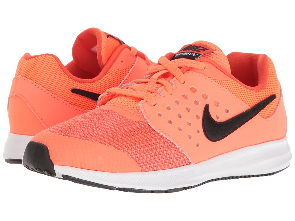 Nike Kids Downshifter 7 (Little Kid) (Hyper Orange/Black/Max Orange/White) Boys Shoes