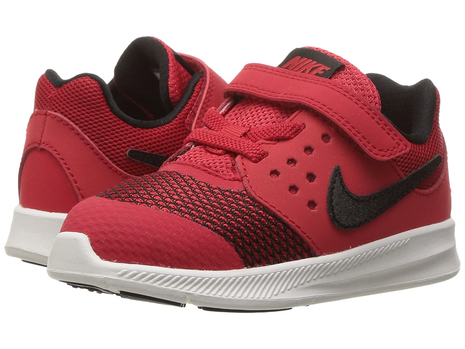 Nike Kids Downshifter 7 (Infant/Toddler) (University Red/Black/White) Boys Shoes