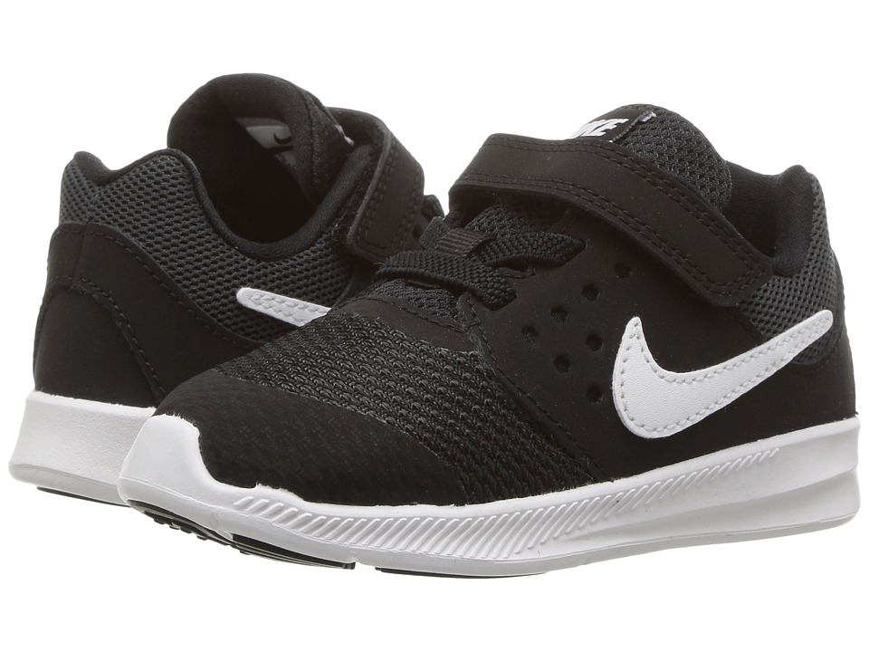 Nike Kids Downshifter 7 (Infant/Toddler) (Black/White/Anthracite) Boys Shoes