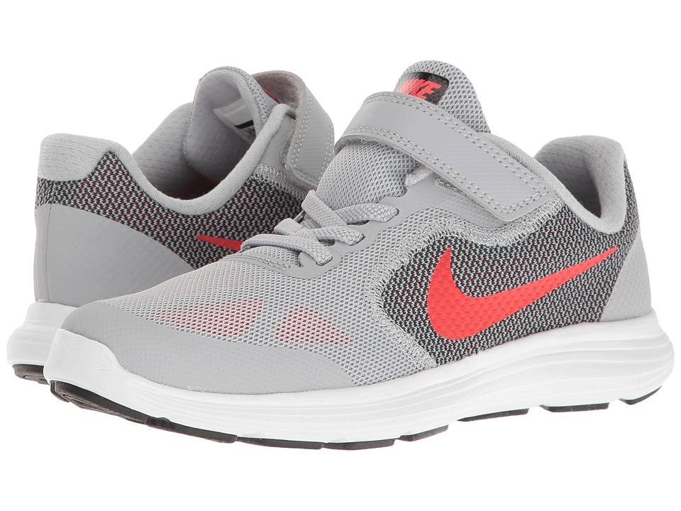 Nike Kids Revolution 3 (Little Kid) (Atom Red/Zest/Black/Orange Blaze) Boys Shoes