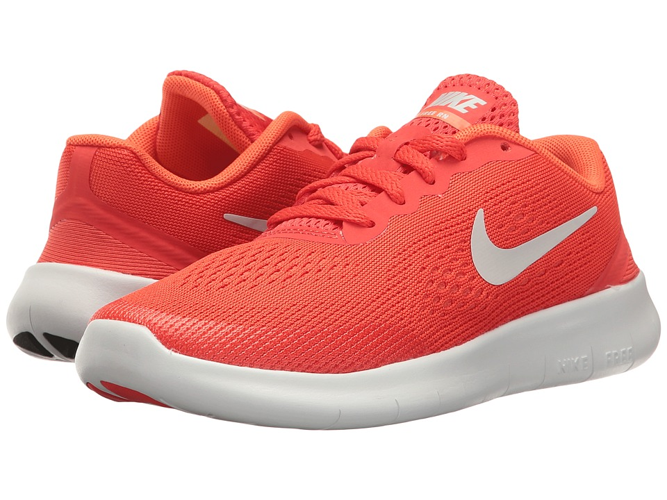 Nike Kids Free RN (Little Kid) (Max Orange/Pure Platinum/Orchid) Boys Shoes