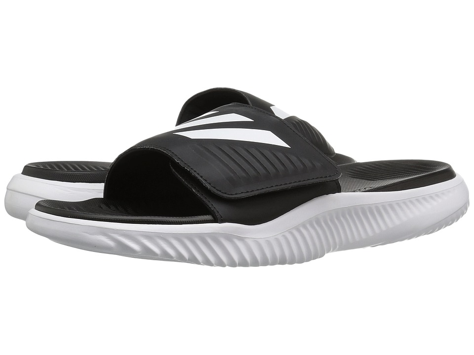 adidas Alphabounce Slide (Footwear White/Core Black) Men