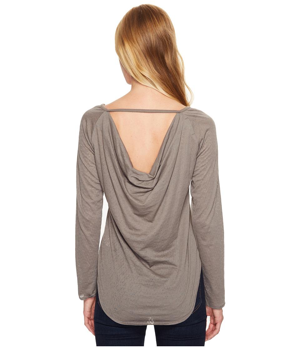 Prana - Salsola Top (Moonrock) Womens Clothing