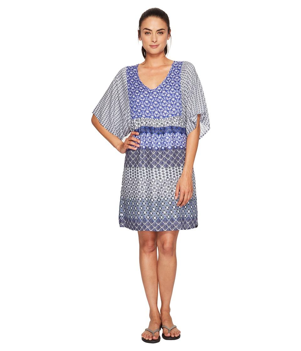 Prana Kyrie Dress (Cobalt) Women
