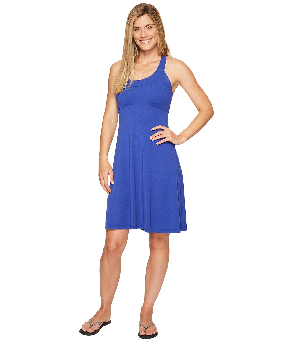 Prana Cali Dress (Cobalt) Women