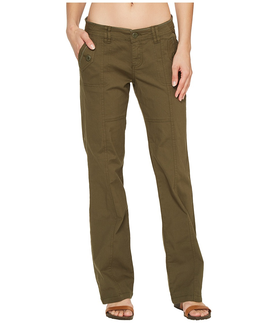 Prana Mazie Pants (Cargo Green) Women