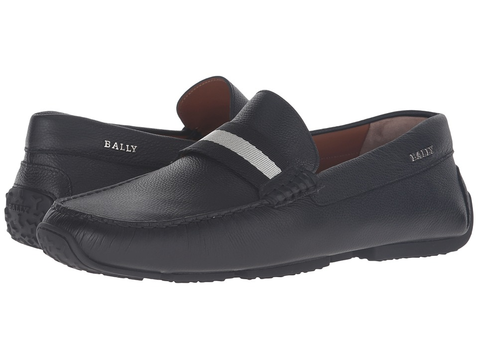 Bally Pearce Driver (Black) Men's Shoes