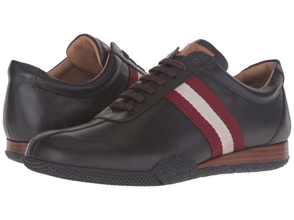 Image of Bally - Frenz (Dark Brown/Red) Men's Shoes