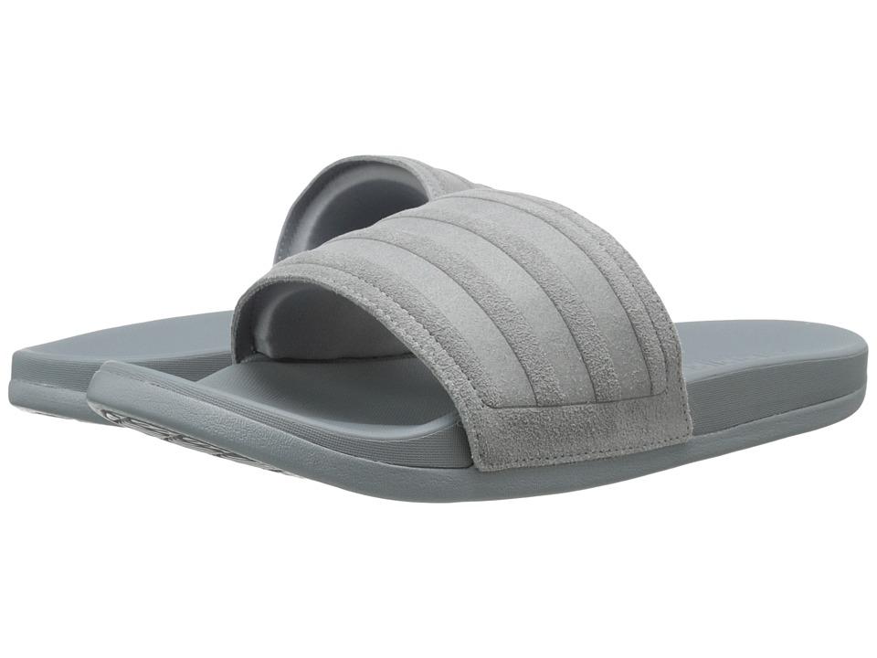 adidas Adilette Cloudfoam Explorer (Grey/Vista Grey) Men
