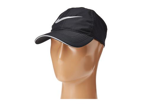 Nike AeroBill Running Cap - Black/Black
