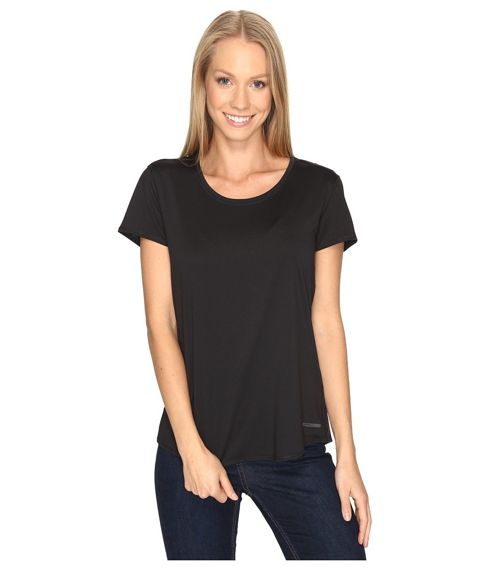 Prana Revere Short Sleeve Tee (Black) Women