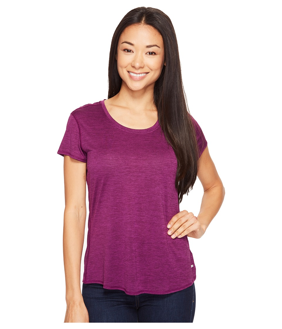 Prana Revere Short Sleeve Tee (Grapevine) Women