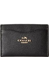 COACH - Crossgrain Flat Card Case