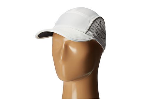 Nike AeroBill AW84 Running Cap - White/White/Black
