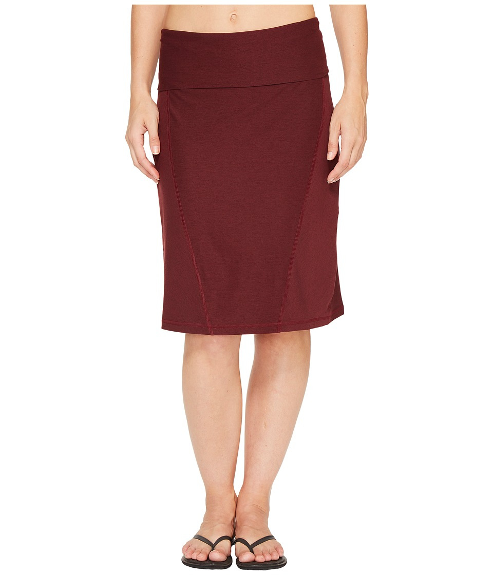 The North Face Getaway Skirt (Deep Garnet Red Heather) Women