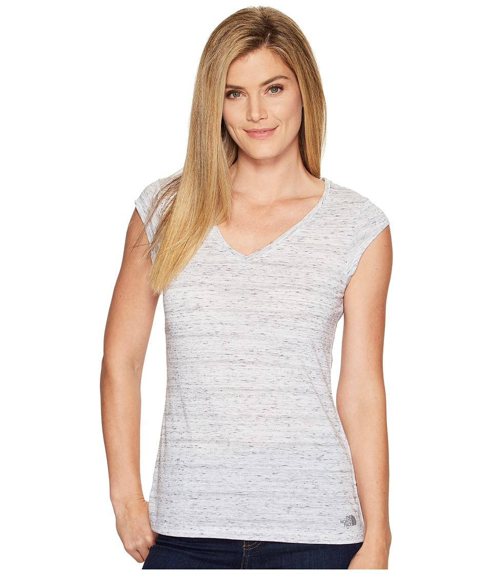 The North Face Short Sleeve EZ Tee (TNF White Melange (Prior Season)) Women