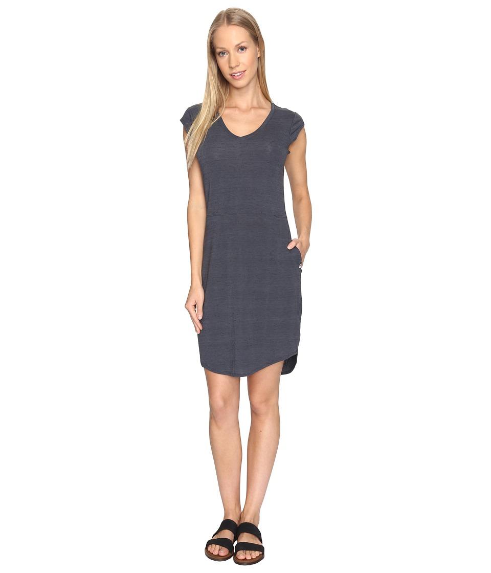 The North Face Short Sleeve EZ Tee Dress (TNF Dark Grey Heather (Prior Season)) Women