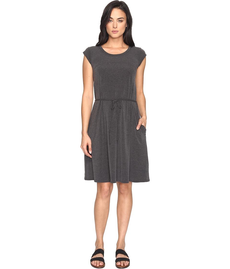The North Face Short Sleeve Vita Dress (TNF Black Heather (Prior Season)) Women