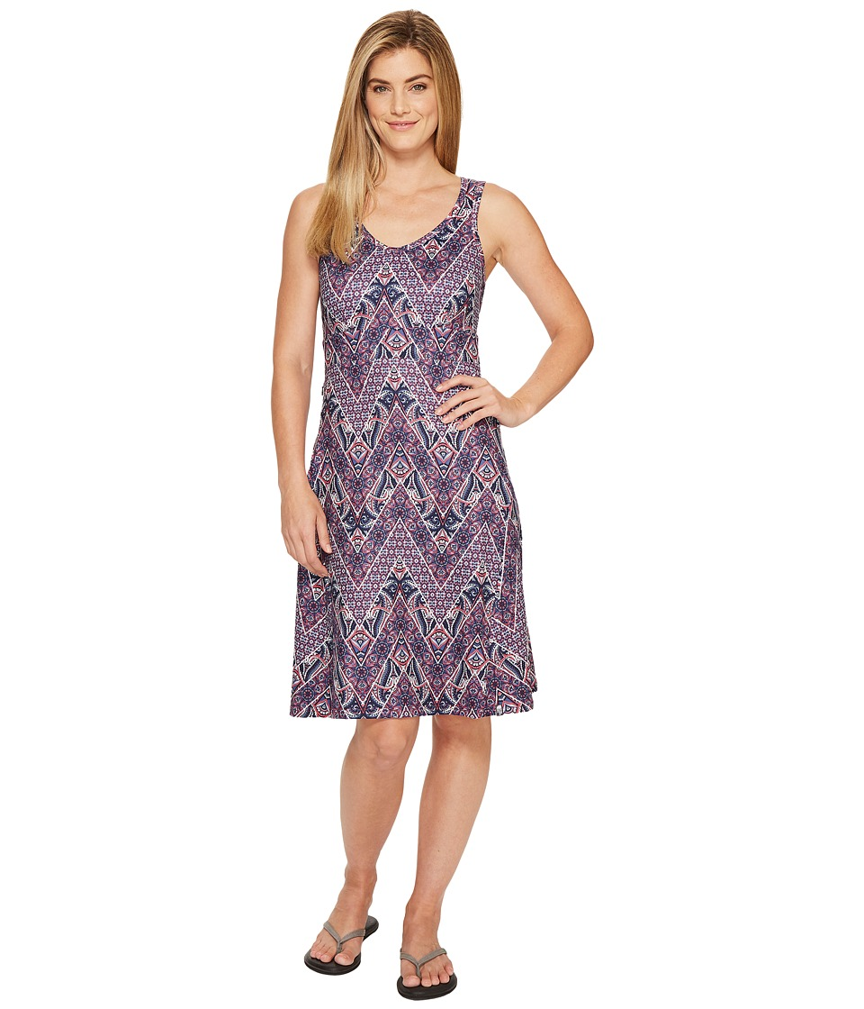 The North Face Getaway Dress (Honeysuckle Pink Chevron Paisley Print) Women