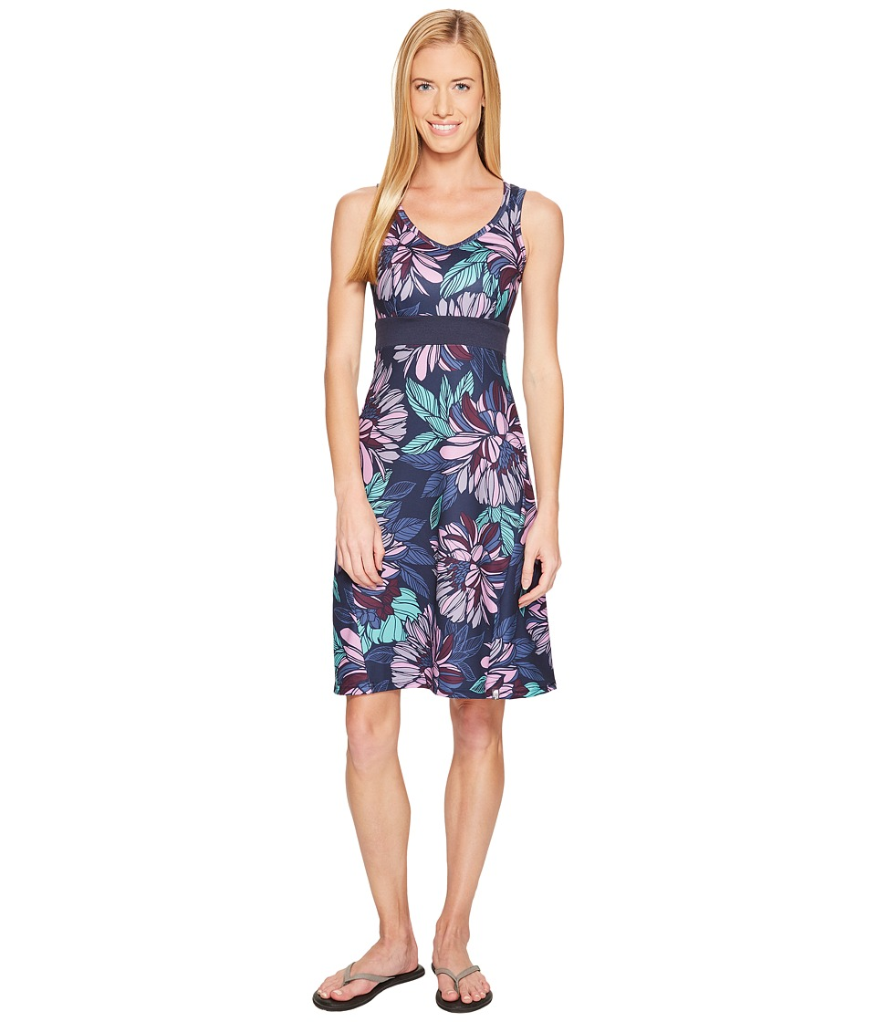 The North Face Getaway Dress (Cosmic Blue Large Floral Print) Women