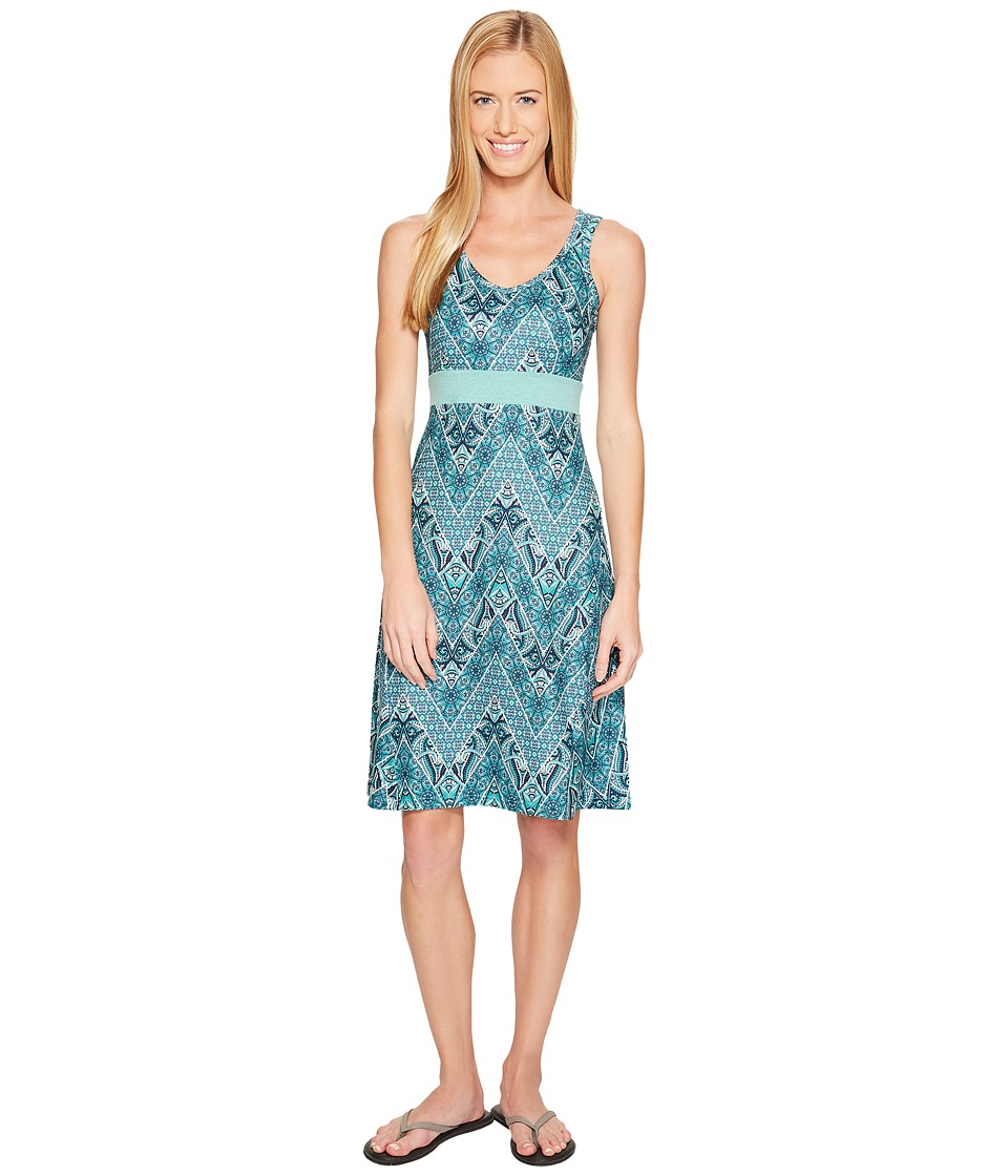 The North Face Getaway Dress (Agate Green Chevron Paisley Print) Women