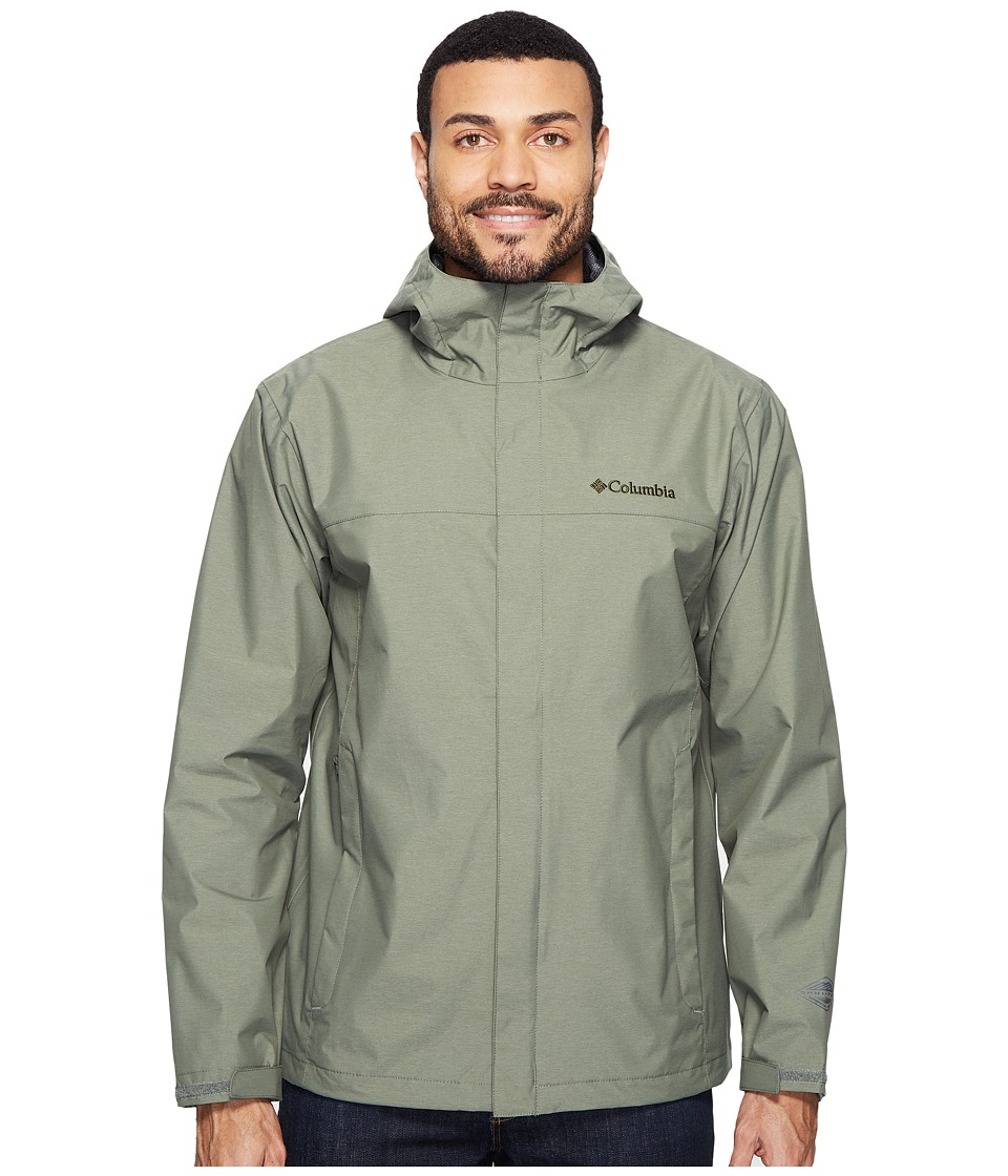 Columbia Diablo Creek Rain Jacket (Cypress) Men