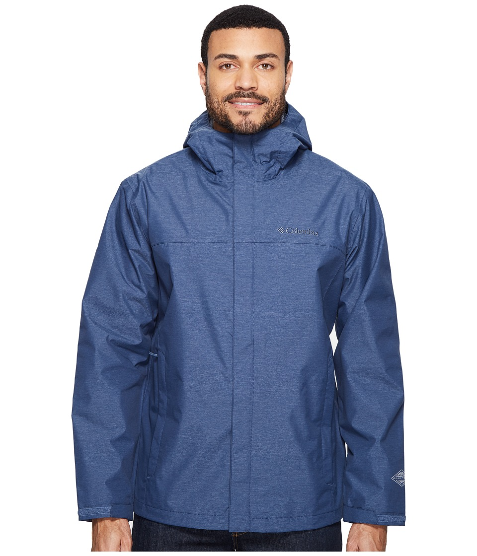Columbia Diablo Creek Rain Jacket (Zinc) Men