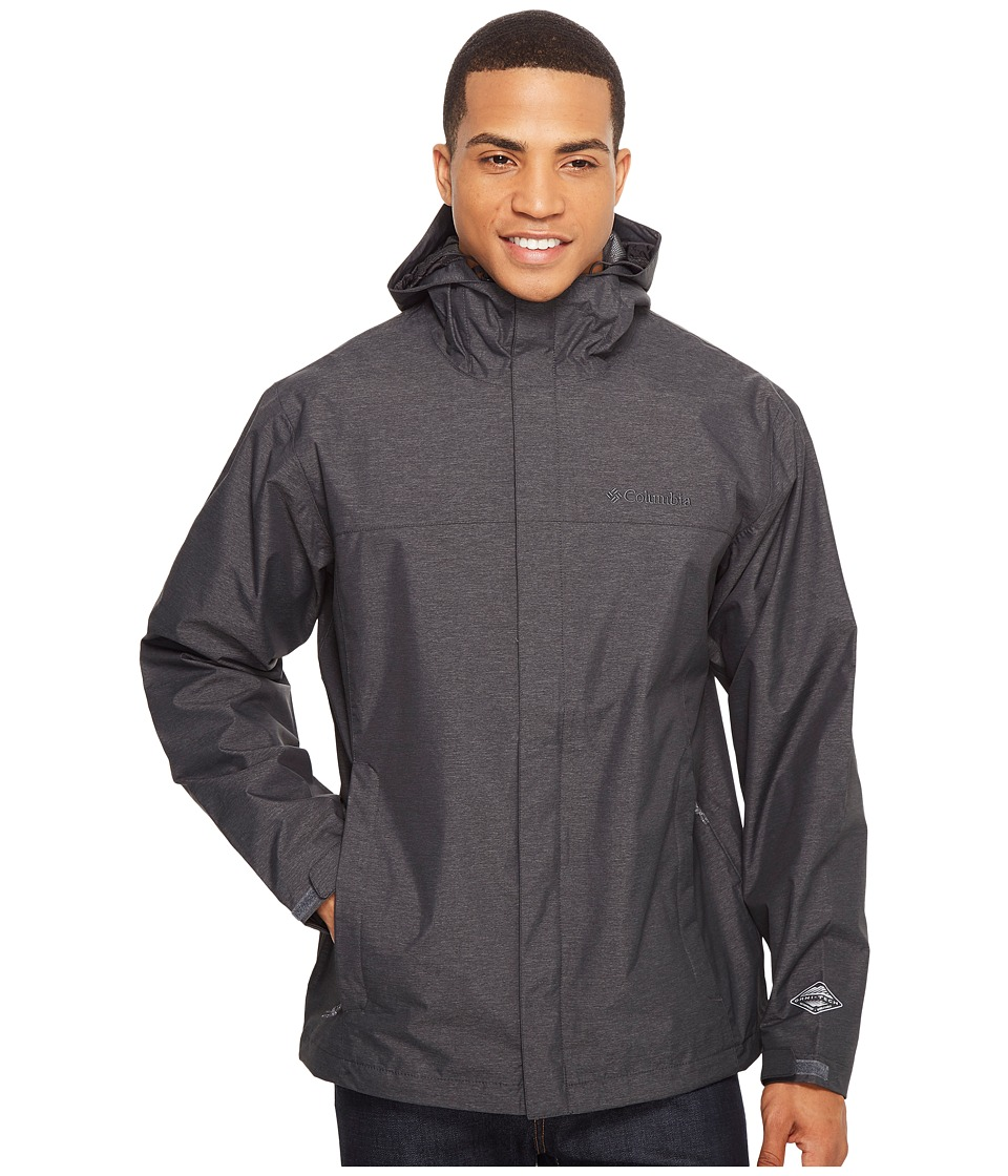 Columbia Diablo Creek Rain Jacket (Shark) Men